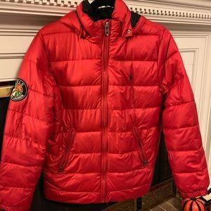 Polo Ralph Lauren red jacket, L (14-16)